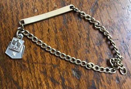Karen Barbee | USAA 5-year bracelet